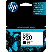 Cartucho HP 920 Preto Original (CD971AL) Para HP Officejet 7500A, 6000dwn, 6500A CX 1 UN