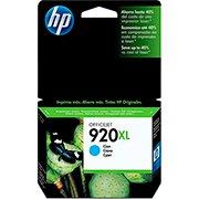 Cartucho HP 920XL Cian Original (CD972AL) Para HP Officejet 7500A, 6000dwn, 6500A CX 1 UN
