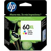 Cartucho HP 60XL color 15,5ml CC644WB HP CX 1 UN