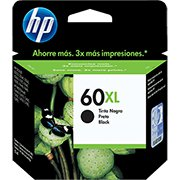 Cartucho HP 60XL preto 13,5ml CC641WB HP CX 1 UN
