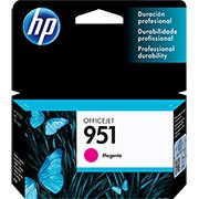Cartucho HP 951 Magenta Original (CN051AB) Para HP Officejet Pro 8600, 8600 Plus, 8610, 8620, 276dw, 8100, 251dw CX 1 UN