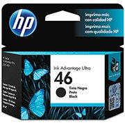 Cartucho HP 46 preto Original (CZ637AL) Para HP DeskJet 2529, 4729, 5738 CX 1 UN