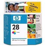 Cartucho HP 28 Colorido Original (C8728AL) Para HP Deskjet 3848, 3743, 3744 CX 1 UN