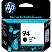 Cartucho HP 94 Preto Original (C8765WL) Para HP Officejet H470wbt, 100, Photosmart 8150xi, PSC 1610v, 2350 CX 1 UN