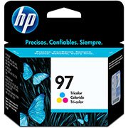 Cartucho HP 97 Colorido Original (C9363WL) Para HP Officejet H470wbt, 100, Photosmart 8150xi, PSC 1610v, 2350 CX 1 UN