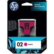 Cartucho HP 02 Magenta Original (C8772WL) Para HP Photosmart 3210xi, 3310xi, D7160, C5180 CX 1 UN