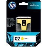 Cartucho HP 02 Amarelo Original (C8773WL) Para HP Photosmart 3210xi, 3310xi, D7160, C5180 CX 1 UN