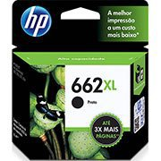 Cartucho HP 662XL preto CZ105AB HP CX 1 UN