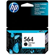 Cartucho HP 564 preto Original (CB316WL) Para HP Photosmart C309g, B210a, C5324, Deskjet 3526, Officejet 4622, 4620 CX 1 UN