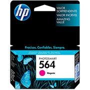 Cartucho HP 564 Magenta Original (CB319WL) Para HP Photosmart C309g, B210a, C5324, Deskjet 3526, Officejet 4622, 4620 CX 1 UN