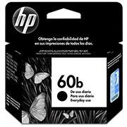 Cartucho HP 60B preto everyday 4,5ml CC636WB HP CX 1 UN