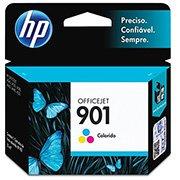 Cartucho HP 901 Colorido Original (CC656AB) Para HP Officejet J4660, J4524, J4624, 4500 CX 1 UN