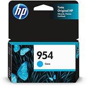 Cartucho HP 954 Cian Original (L0S50AB) Para HP Deskjet 7720, 7740, 8210, 8710, 8720 CX 1 UN