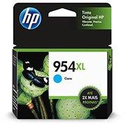 Cartucho HP 954XL Cian Original (L0S62AB) Para HP Deskjet 7720, 7740, 8210, 8710, 8720 CX 1 UN
