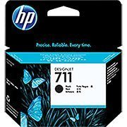 Cartucho HP 711 80ml preto CZ133AB HP CX 1 UN