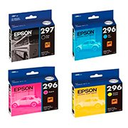 Kit Cartucho Epson T297 para Expression XP-441, XP-241, XP-231, XP-431 PT 1 UN