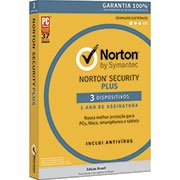 Norton Security Plus 3 dispositivos 1 ano Symantec (998702)