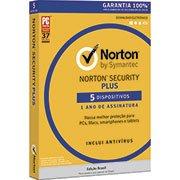Norton Security Plus 5 dispositivos 1 ano Symantec (998703)