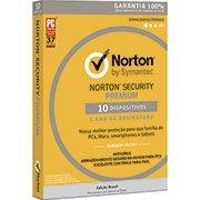 Norton Security Premium 10 dispositivos 1 ano Symantec (998704)