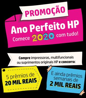 Promoção Ano Perfeito HP - Comece 2020 com tudo!