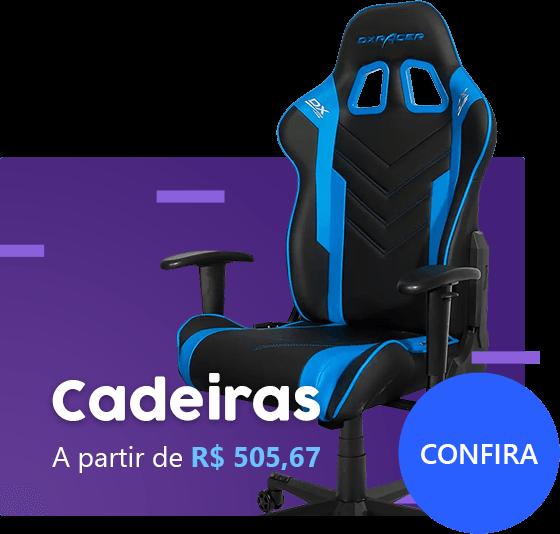 Cadeiras a partir de R$ 505,67