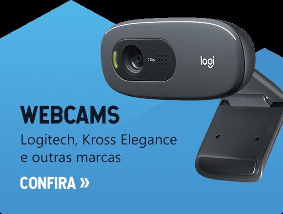 Webcams - Logitech, Kross Elegance e outras marcas