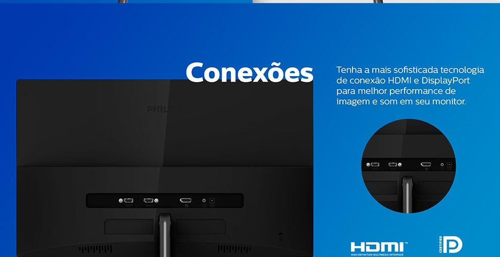 Monitor LED 27 widescreen Design 4K 276E8VJSB Philips-5