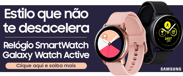 Relógio Samsung SmartWatch Galaxy Watch Active