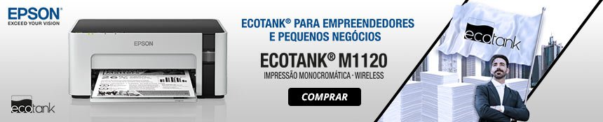 Nova Impressora Monocrom?tica Ecotank M1120 Epson