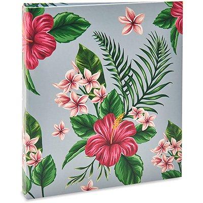 Álbum de fotos (10x15) p/300 fotos floral 321 Ical PT 1 UN