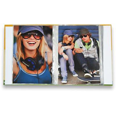 Álbum de fotos (10x15) p/120 fotos cores-preto Ical PT 1 UN