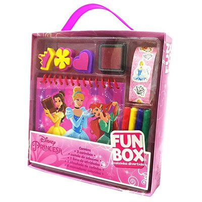 Livro para colorir infantil Disney Princesas Catavento PT 1 UN