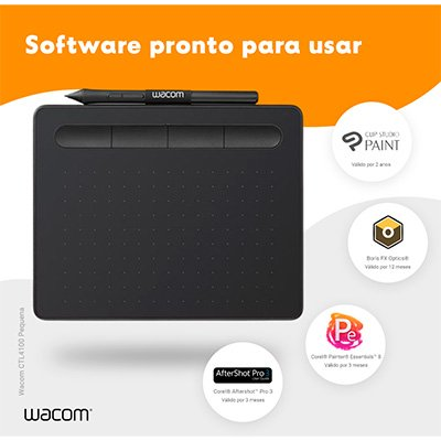 Mesa digitalizadora Wacom Tablet Intuos Creative pequena CTL4100 CX 1 UN