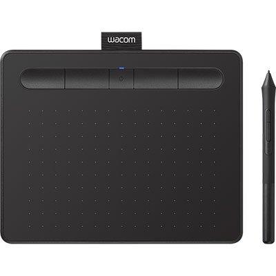 Mesa Digitalizadora Wacom Tablet Intuos Pequena com Bluetooth Preto CTL4100WLK0 CX 1 UN