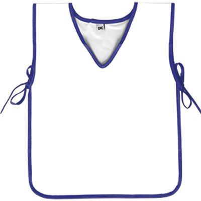 Avental escolar branco c/azul 093AZ Dac PT 1 UN