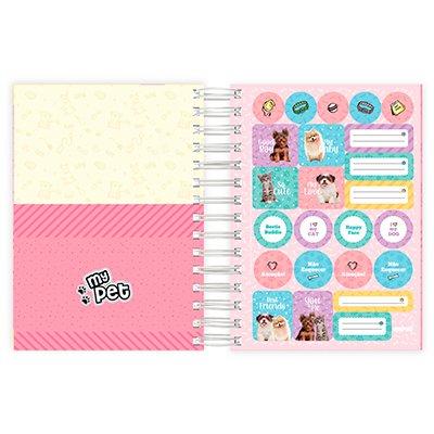 Agenda diária My Pet 2022, 190 x 136mm, 176 folhas, 2228464, Spiral - PT 1 UN