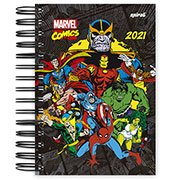 Agenda diária Marvel Comics Thanos 2021 Spiral PT 1 UN