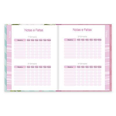Agenda escolar Flamingo 20182 Spiral Ten PT 1 UN