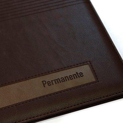 Agenda permanente A5 marrom 3093 Dac PT 1 UN