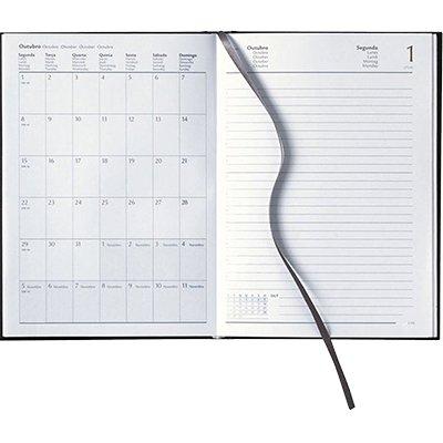 Agenda diária Matra preta 2021 B0804-036K1 Pombo PT 1 UN
