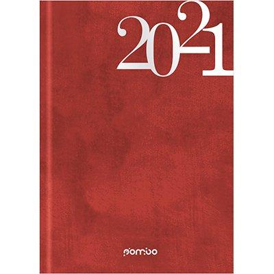 Agenda diária Wall vermelha 2021 B0822-361K1 Pombo PT 1 UN