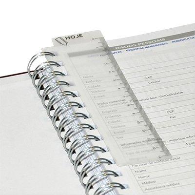 Agenda diária Wire-o Matra fúscia 2021 B6804-578K1 Pombo PT 1 UN