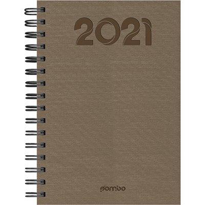 Agenda diária Wire-o Índia avelã 2021 B68A1-968K1 Pombo PT 1 UN