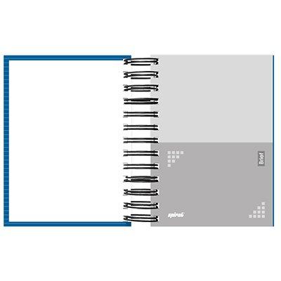 Agenda diária mini Brief Case azul 2022 2269238 Spiral Brf PT 1 UN