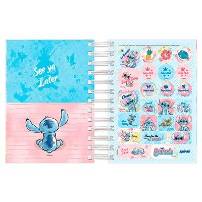 Agenda diária mini Stitch 2022 2269375 Spiral Ds PT 1 UN
