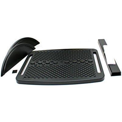 Apoio ergonômico para os pés ajuste milimétrico preto 13P App-tech CX 1 UN