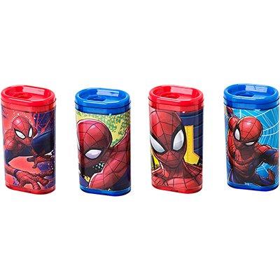 Apontador c/Deposito Spider Man - Homem Aranha Molin BT 1 UN