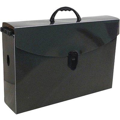 Arquivo maleta slim pp fumê c/6 pastas suspensas kraft Dello PT 1 UN