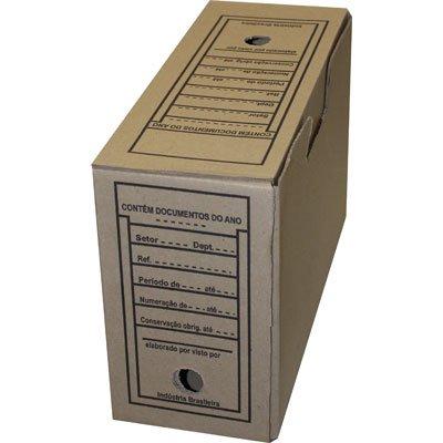 Arquivo morto papelão reciclado (350x135x240) Frugis UN 1 UN