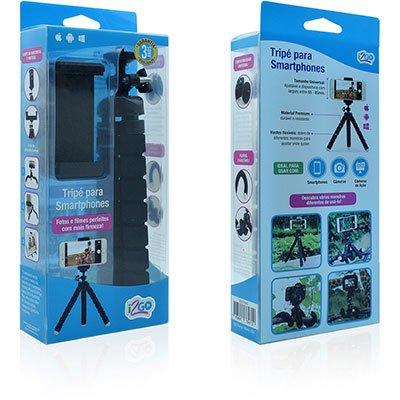 Tripé p/ Smartphone ajustável TH320 I2Go BT 1 UN